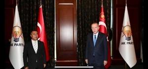 Ak Partiye geçen Kozluk Belediye Başkanı Cumhurbaşkanı ile görüştü