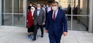 Binali Yıldırım ve eşinin, Milletvekili Karaman'ın korona virüs test sonuçları pozitif çıktı