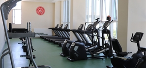 Karaman'da fitness ve sauna merkezi hizmete girdi