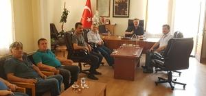 Karakırık ve Karagül Yortan Belediye başkanı Şık'ın sorunlarını dinledi