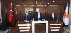 Vali Soytürk, İl Genel Meclisi üyeleriyle bir araya geldi