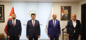 AK Parti Kahramanmaraş'ta dört ilçe başkanı değişti