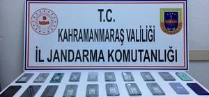 Kahramanmaraş'ta kaçak telefon operasyonu: 1 gözaltı