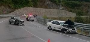 Bartın-Amasra karayolunda kaza: 7 yaralı