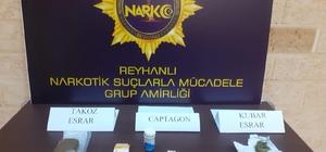Reyhanlı'da uyuşturucu operasyonları: 5 gözaltı