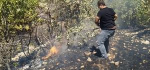 Gercüş'te ağaçlık alanda yangın: 100 dönümlük alan kül oldu