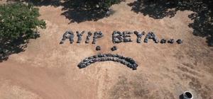 150 torba çöple böyle tepki gösterdiler Trakya şivesi ve üzgün suratla gülümseten mesaj 'Ayıp beya'