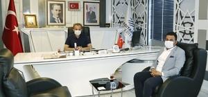 Gölbaşı Belediye Başkanı Yıldırım'dan Kılınç'a ziyaret