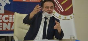 """Başkan Şahin, BEBKA'yı sert bir dille eleştirdi Bilecik Belediye Başkanı Semih Şahin: """"Genel sekreterler mafya olmuşlar, hükümdarlıklarını bitirmek lazım"""""""
