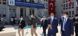 """Denizcilik Meslek Yüksekokulu törenle açıldı SUBÜ Rektörü Prof. Dr. Mehmet Sarıbıyık: """"Çok emek verdik, çok bekledik sonuçta başarıya ulaştık"""""""
