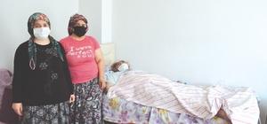 Sungurlu'da yaşlı kadın kendisine uzanacak yardım elini bekliyor KOAH ve kemik erimesi olan yatalak kadın komşularının yardımı ile geçinmeye çalışıyor