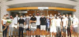 Hatayspor'da futbolcular sağlık kontrolünden geçirildi