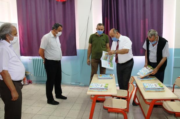 Müdür Başyiğit'in okul ziyaretleri