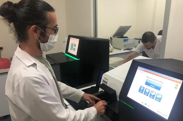 Covid-19 hastasından alınan SARS-CoV-2 virüs genomunun dizi analizi yapıldı