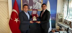 İstanbul Büyükşehir Belediyesi'nden Başkan Yıldırım'a ziyaret