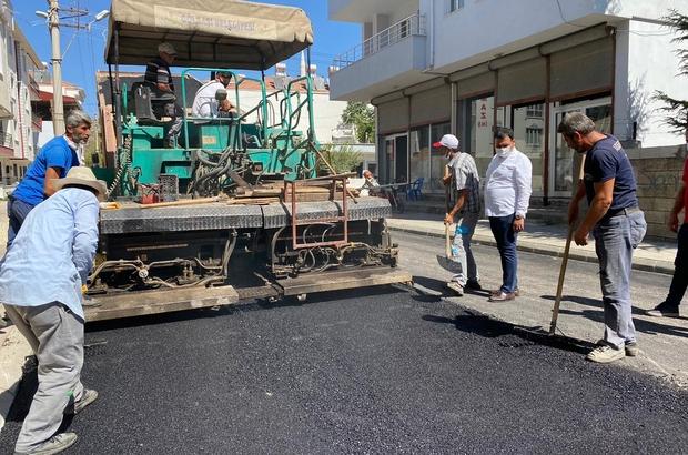 Gölbaşı'nda asfaltlama çalışmaları devam ediyor