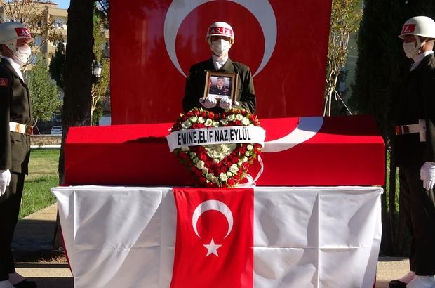 Şehit Tuğgeneral Erdoğan gözyaşlarıyla son yolculuğuna uğurlandı