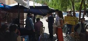 Tuzluca'da 'Çocuğunu Seviyorsan Maske Tak' projesi