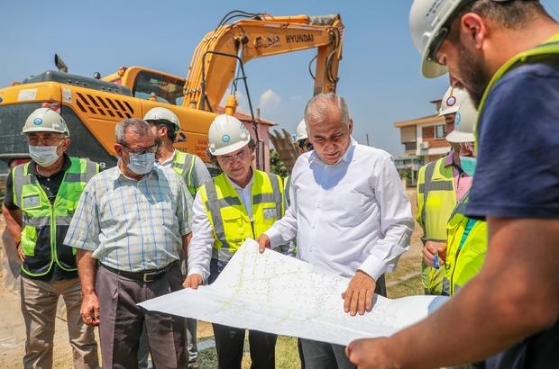 """Serinhisar'da alt yapısı sil baştan yenilendi Başkan Zolan; """"Alt yapı tamam, sıra üst yapıda"""""""