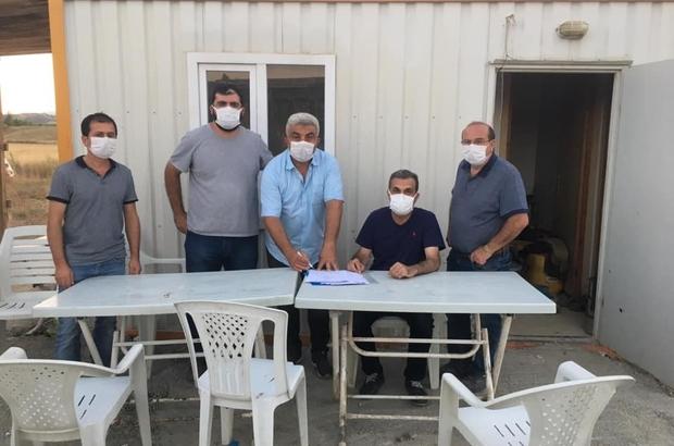 Hisarcık'a Atık Su Arıtma Tesisi yapım çalışmaları