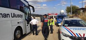 Vakaların artış gösterdiği Kastamonu'da, denetimler sıklaştırdı Jandarma ekipleri, tüm yollarda denetimlerini sıklaştırdı