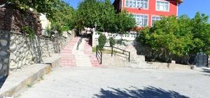 Kastamonu'da işlevini yitiren kaldırımlar yenileniyor