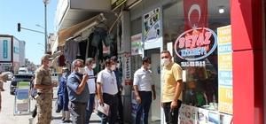Düziçi'nde 30 kişiye 27 bin lira maske cezası