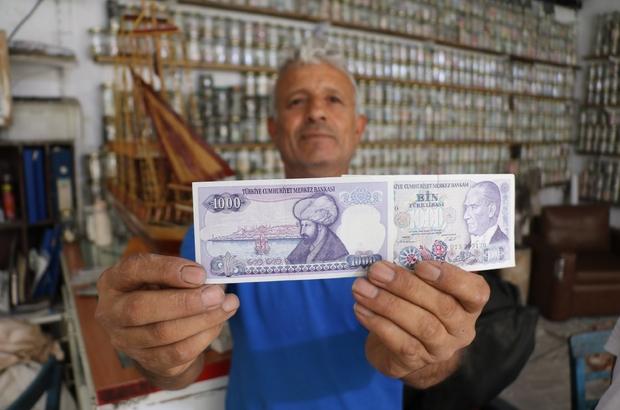 Ayesofya silüetli parayı Cumhurbaşkanı'na gönderecek Koleksiyonunun en değerli parasını Cumhurbaşkanına hediye edecek