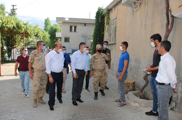 Pençe-Kaplan Operasyonunda yaralanan güvenlik korucularına ziyaret