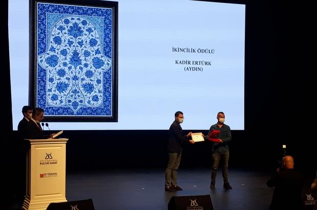 Zeytinburnu Kültür ve Sanat Merkezi'nden Öğretim Görevlisi Ertürk'e ödül