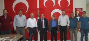 MHP Muş Merkez İlçe Başkanı Şahin'den, Başkan Öğreten'e ziyaret
