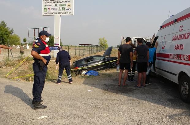 Adana'da trafik kazası: 2 ölü, 4 yaralı