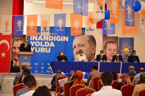 Çavdarhisar'da AK Parti İlçe Başkanı Yaşar Rıdvan Kocaman seçildi