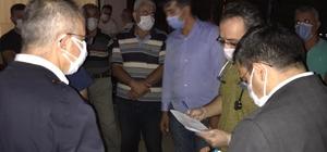 Vali Doruk, kazada yaralanan maden işçilerini ziyaret etti