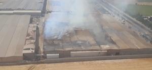 Kahramanmaraş'ta tekstil fabrikasında yangın Yangın ekiplerin müdahalesi sonucu 6 saatte kontrol altına alındı