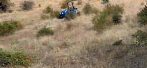 Sivas'ta traktör şarampole devrildi: 4 yaralı