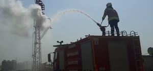 Trafoda çıkan yangını itfaiye ekipleri söndürdü