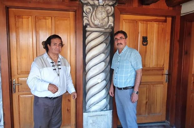 Afrodisias ünlü ressamın fırçasında Karacasu ilçe merkezine taşınacak