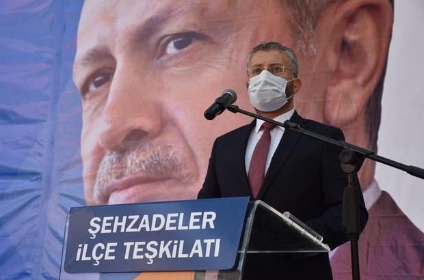 AK Parti Şehzadeler'de Mehmet Emin Çipiloğlu güven tazeledi