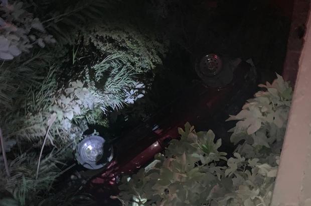 Sulama kanalına düşen araçta 1 kişi öldü, 2 kişi yaralandı