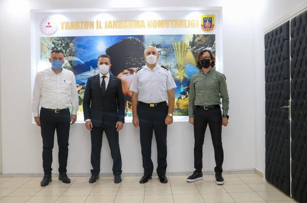 """İl Jandarma Komutanı Sırma'ya İmperial Hastanesinden """"Hayırlı olsun"""" ziyareti"""