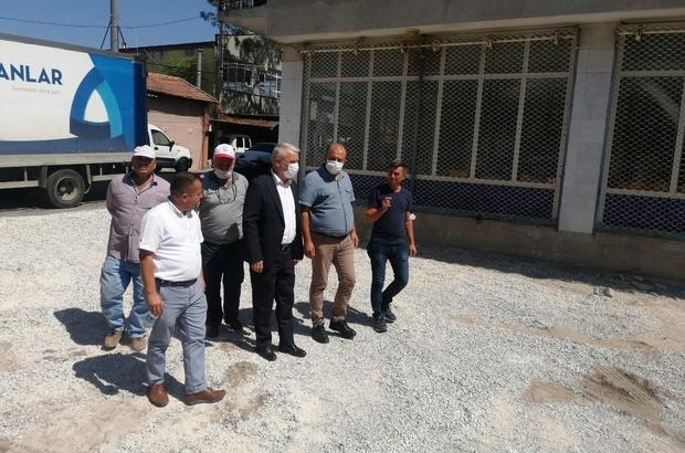 Paşaköy mahalle meydanı yenileniyor