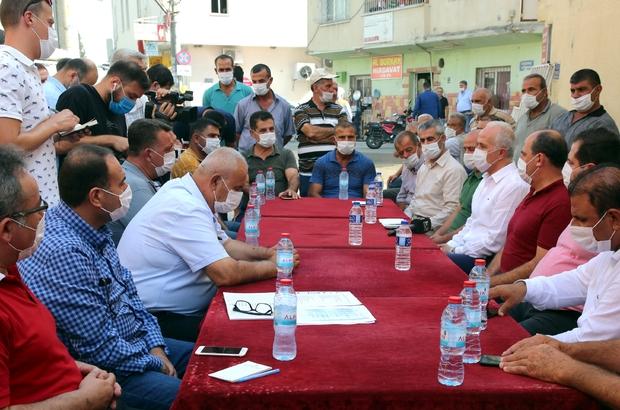 """Gültak, Adanalıoğlu'nda vatandaşlar bir araya geldi Akdeniz Belediye Başkanı Mustafa Gültak: """"Akdeniz'de artık huzur, barış ve kardeşlik hakim oldu"""""""