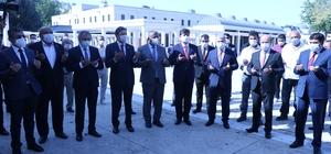 Kırşehir merkezli Ahilik Haftası kutlamaları başladı Şehir protokolü, Ahi Evran-I Veli Külliyesinde dua etti