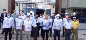 """Büro Memur-Sen Genel Başkanı Yazgan: """"Kamu görevlisine uzanan el kırılmalı"""" Kamu görevlisine uygulanan şiddet protesto edildi"""