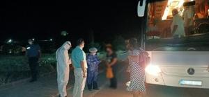 Covid-19'lu hasta şehirlerarası otobüste yakalandı Otobüsün içinde bulunan yolcular 14 gün karantinaya alındı
