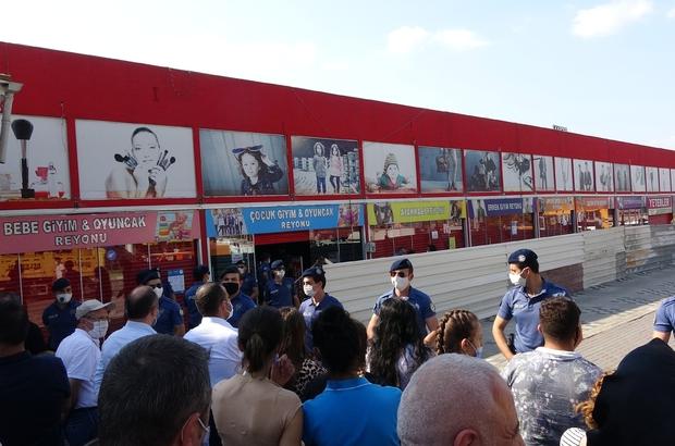 Korona virüsü unutup yıkımı film gibi izlediler Osmangazi Belediyesi kaçak yapılara taviz vermiyor