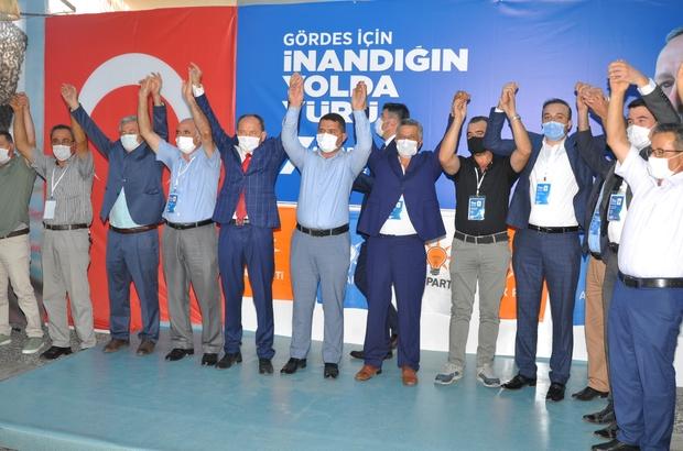AK Parti Gördes İlçe Başkanı Rıza Dilcan güven tazeledi
