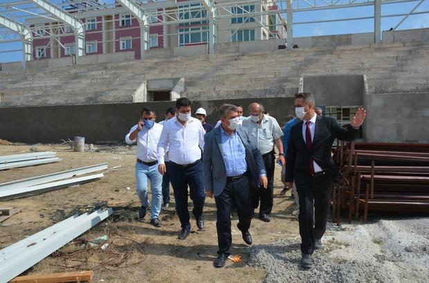 """Milletvekili Maviş: """"Sinop'un gelecek 50 yılını karşılayabilecek bir stat inşa ediliyor"""""""