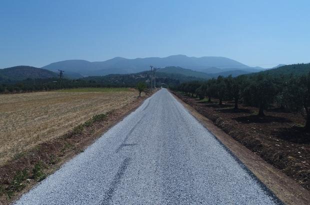 Manisa'da asfaltta 500 kilometre hedefi aşıldı